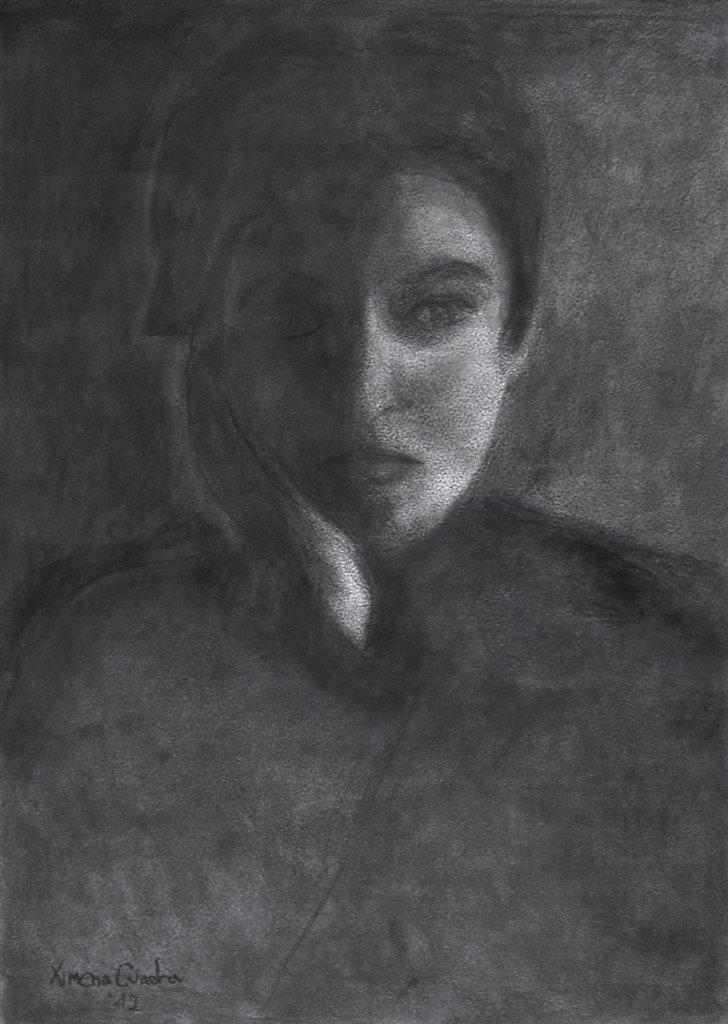 La-joven-Gabriela-carboncillo-sobre-papel-60x80cm2016